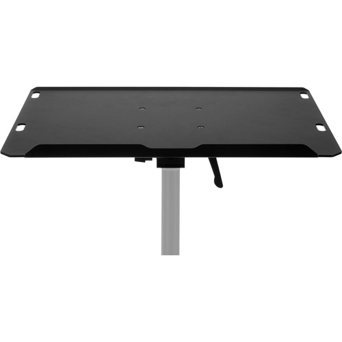 "ClickSnap Axis 1 15"" Laptop Travel Table with Tilting Base for 5/8"" Stands, and 3/8""-16 & 1/4""-20 Mounting Threads"
