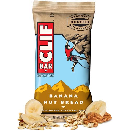 Clif Bar Energy Bars (Banana Nut Bread, 12-Pack)