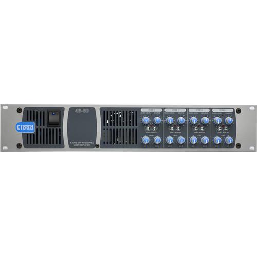 Cloud USA 46-50T 4-Zone 2 U Rackmountable Mixer Amplifier