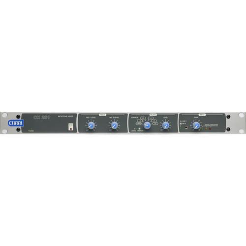 Cloud USA CX261 1 U Rackmountable Stereo Audio Mixer