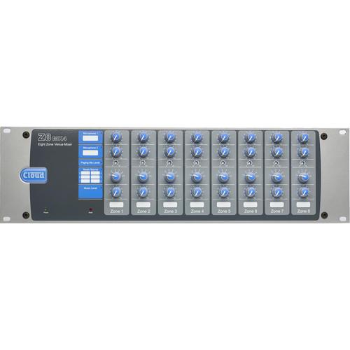 Cloud USA Z8MK4 3 U Rackmountable Audio Mixer
