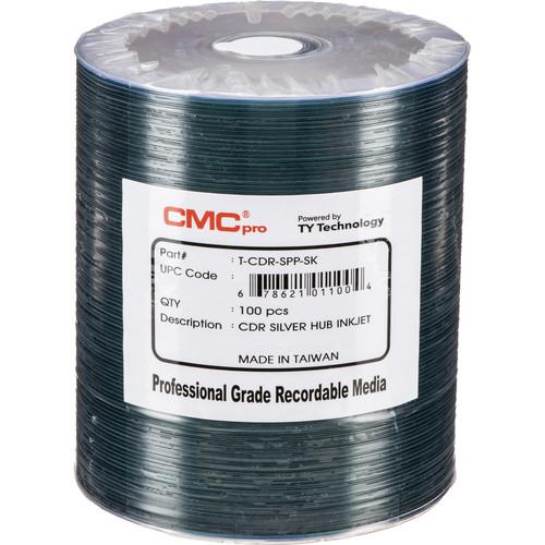 CMC Pro 700MB CD-R 48x Discs (100-Pack)