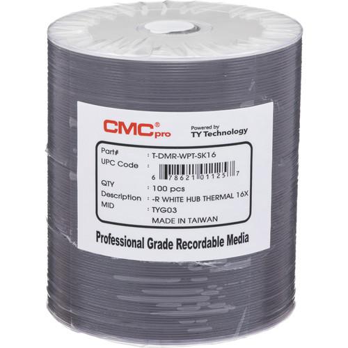 CMC Pro 4.7GB DVD-R Everest 16x Discs (100-Pack)