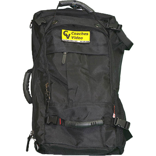 Coaches Video Backpack for Rover Electronics and Camera Bag