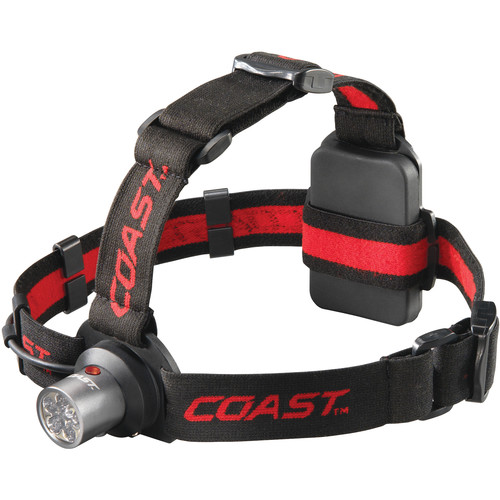 COAST HL4 Dual-Color Utility Beam LED Headlamp (Clamshell Packaging)