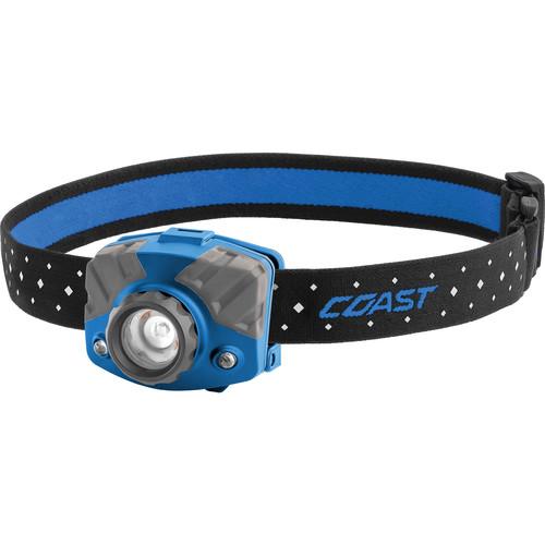 COAST FL75 Dual-Color Pure Beam Focusing LED Headlamp (Blue/Gray)