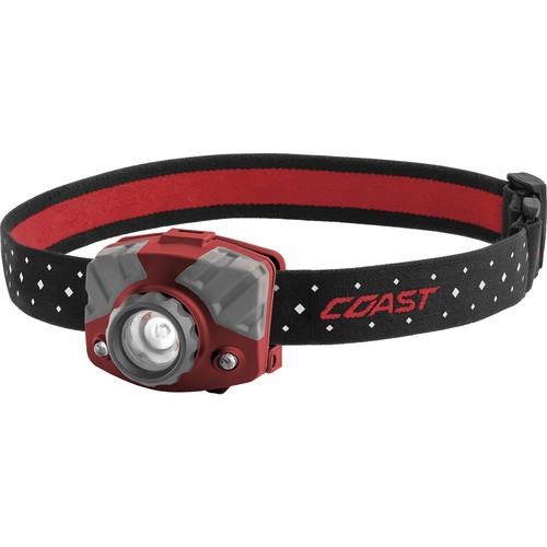 COAST FL75 Dual-Color Pure Beam Focusing Headlamp (Red)
