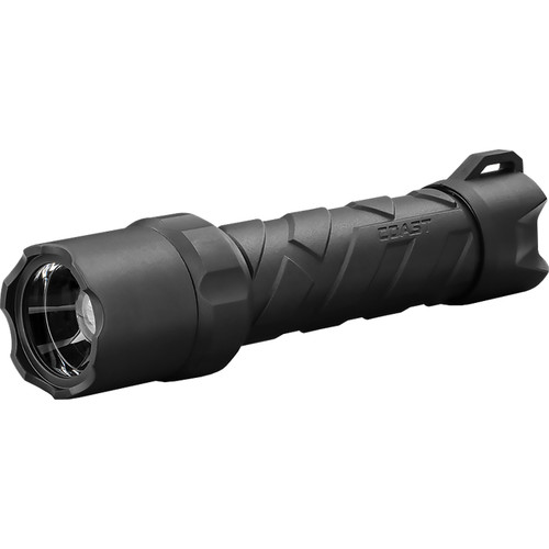 COAST PolySteel 600R Rechargeable LED Flashlight (Black, Clamshell Packaging)