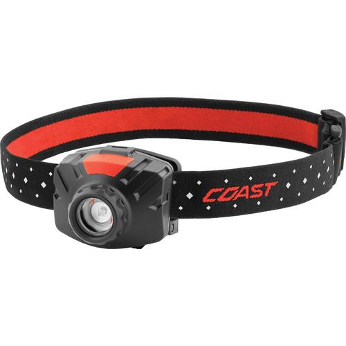 COAST FL60R Wide-Angle Flood Beam Rechargeable LED Headlamp (Black)