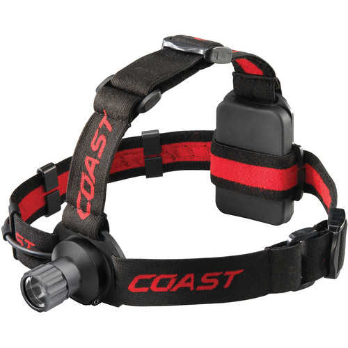 COAST HL40 Wide-Angle Flood Beam LED Headlamp (Clamshell Packaging)