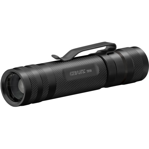 COAST TX1R Pure Beam Focusing Rechargeable LED Flashlight