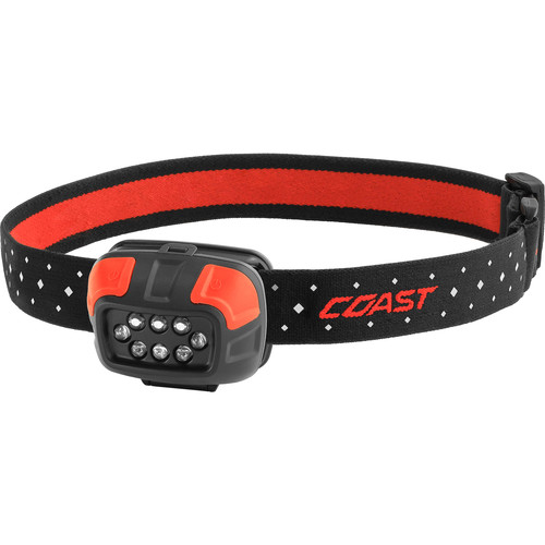 COAST FL44 Dual-Color Utility Beam LED Headlamp (Clamshell Packaging)