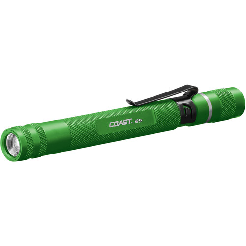 COAST HP3R Universal Focusing Rechargeable LED Penlight (Green)