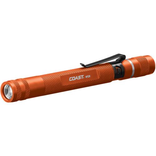 COAST HP3R Universal Focusing Rechargeable LED Penlight (Orange)