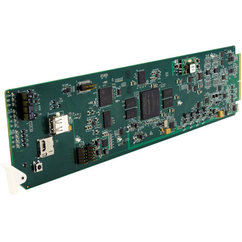 Cobalt 9902-2UDX 3G/HD/SD-SDI Dual Channel Up-Down-Cross Converter/Frame Sync/Audio Embed/De-Embed Card