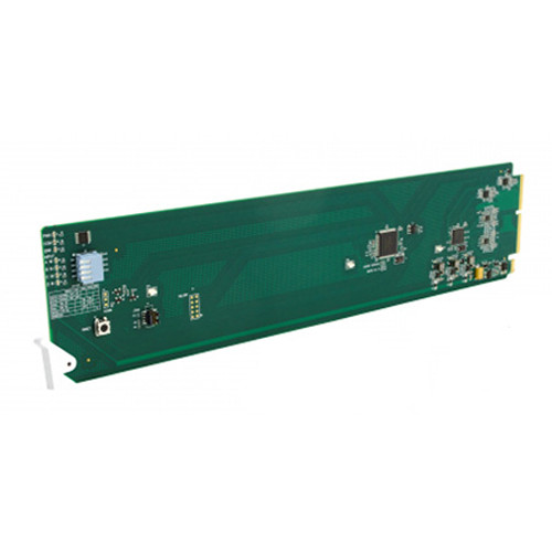 Cobalt 9910DA-4Q-3G-RCK 3G/HD/SD Quad-Channel Multi-Rate Distribution Amplifier with 4 Output Crosspoint