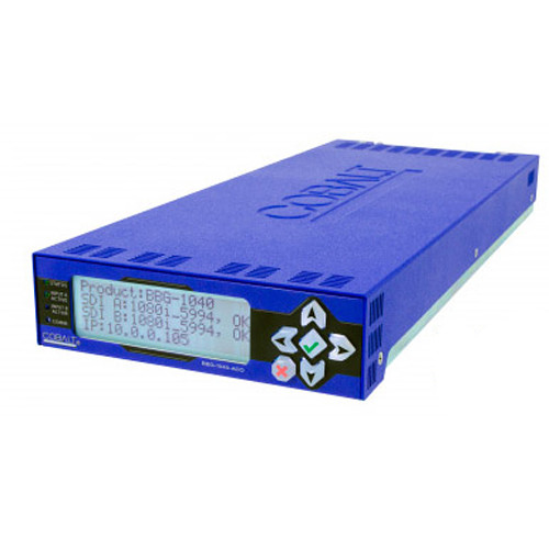 Cobalt BBG-1070-QS-A 3G/HD/SD-SDI/CVBS Standalone Expandable Multiviewer