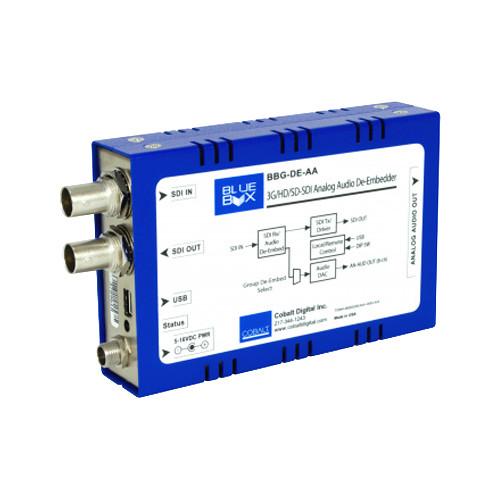 Cobalt BlueBox 3G/HD/SD Analog Audio De-Embedder