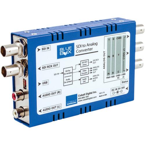 Cobalt Blue Box HD-SDI to HD Analog Converter