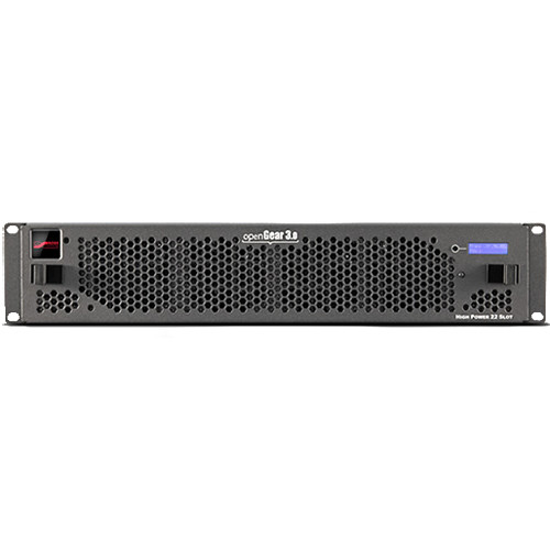 Cobalt openGear 20-Slot Ethernet Frame with Power Supply & Network Controller Card (2RU)