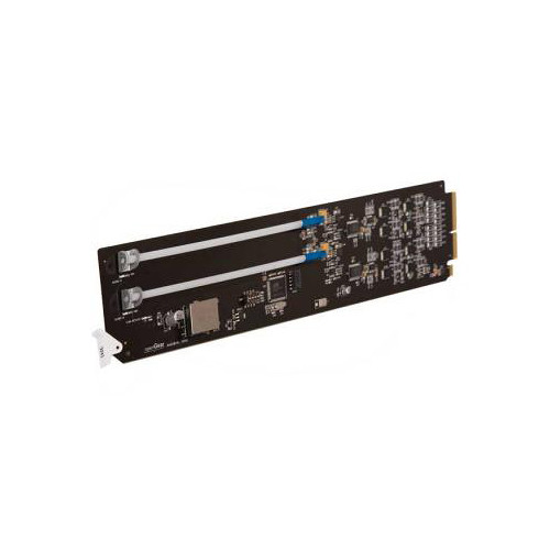 Cobalt Analog Audio DA Standard-Width Rear Module for 20-Slot Frame (2 Differential Inputs & 8 Differential Outputs)