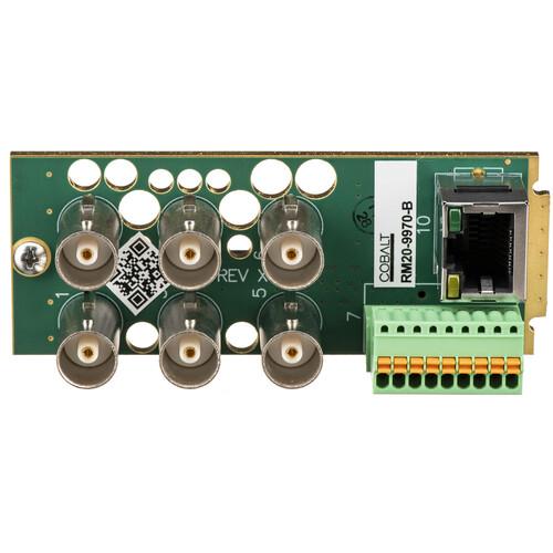 Cobalt RM20-9970-B 3G/HD/SD-SDI/CVBS BNC OpenGear 20-Slot Frame Rear I/O Module