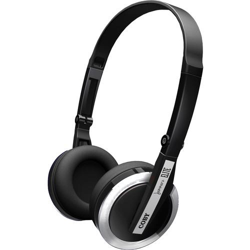 Coby Jammerz Elite Folding Headphones (Silver)