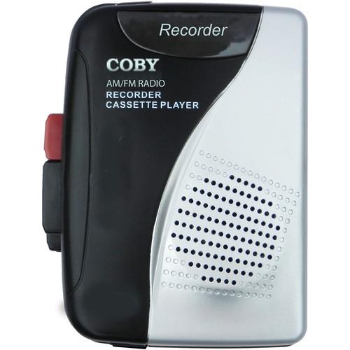 Coby AM/FM Cassette Recorder