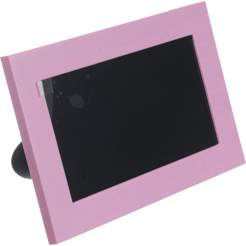 "Coby DP700 7"" Widescreen Digital Photo Frame (Pink)"