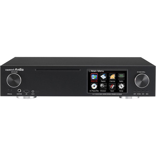 cocktailaudio X30 Smart HD Music Server and Amplifier (Black)