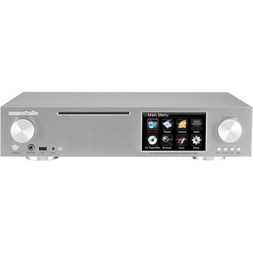 cocktailaudio X30 Smart HD Music Server and Amplifier (Silver)