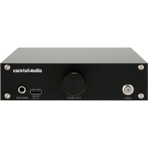 cocktailaudio N15D USB DAC and Network Player (Black)