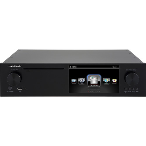 cocktailaudio X50D Digital Music Server and Player (Black)