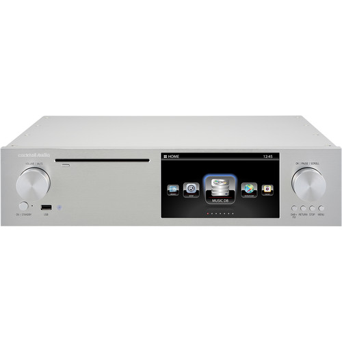 cocktailaudio X50D Digital Music Server and Player (Silver)