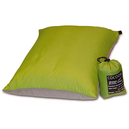 COCOON Aircore Ultralight Travel Pillow (Light Blue / Gray)