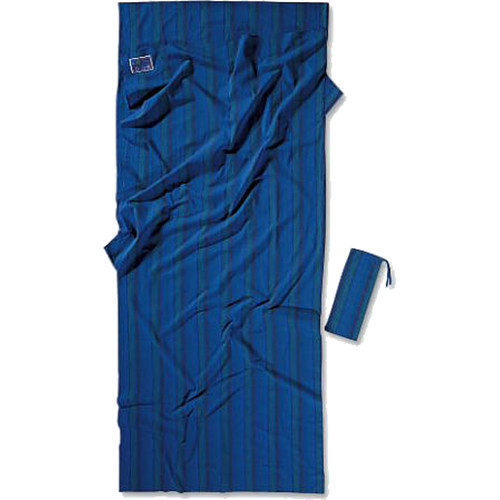 COCOON Cotton Travel Sheet (Nile Blue)
