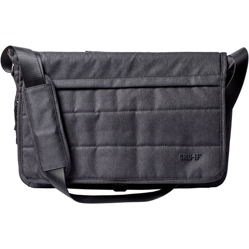 "Cocoon GRID-IT! Tech Messenger Bag for Laptop up to 16"" (Charcoal)"