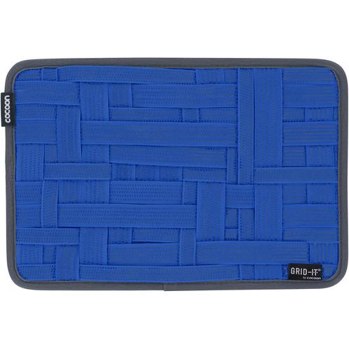 "Cocoon GRID-IT! Medium Configurable Organizer for Laptop Bags & Travel Cases (12 x 8"", Royal Blue)"