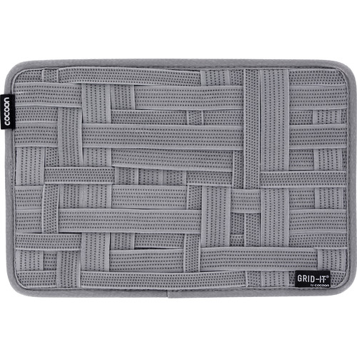 """Cocoon GRID-IT! Medium Configurable Organizer for Laptop Bags & Travel Cases (12 x 8"""", High-Rise Gray)"""