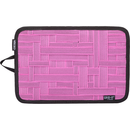 "Cocoon GRID-IT! Medium Configurable Organizer for Laptop Bags & Travel Cases (12 x 8"", Pink)"
