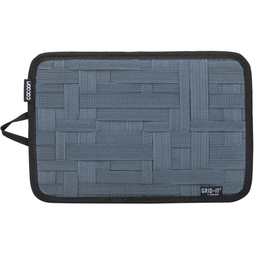 """Cocoon GRID-IT! Medium Configurable Organizer for Laptop Bags & Travel Cases (12 x 8"""", Slate Gray)"""