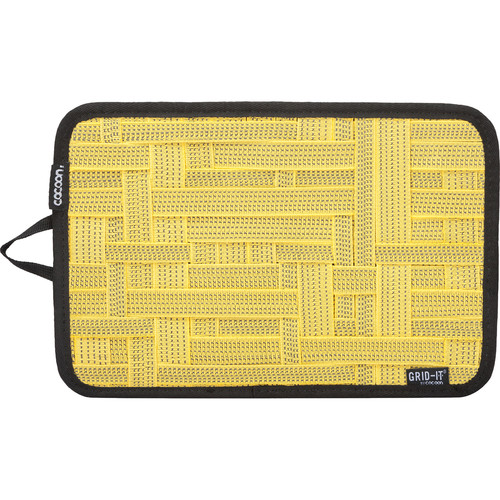 "Cocoon GRID-IT! Organizer (Medium, 12 x 8"", Yellow)"