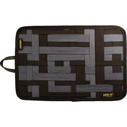 "Cocoon 12"" GRID-IT! Accessory Organizer with Storage Pocket (Black)"