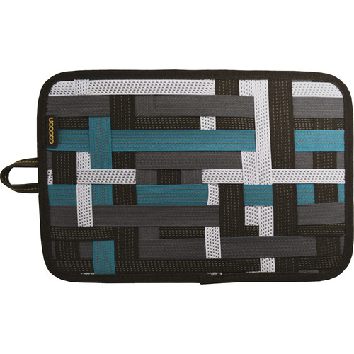 "Cocoon 12"" GRID-IT! Accessory Organizer with Storage Pocket (Green)"