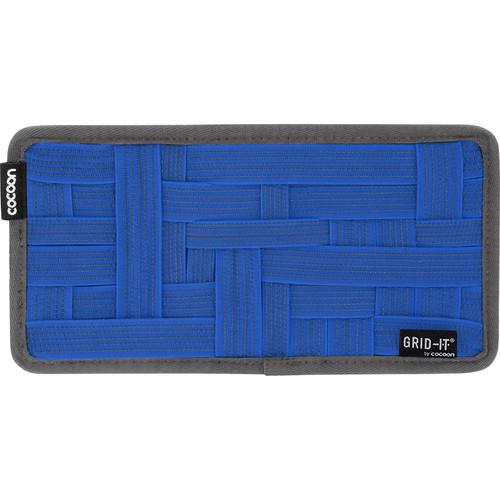 """Cocoon GRID-IT! Organizer (Small, 10.25 x 5.125"""", Royal Blue)"""