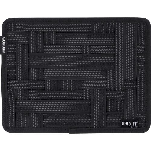"Cocoon GRID-IT! Small Configurable Organizer for iPad Case (7.25 x 9.25"", Black)"