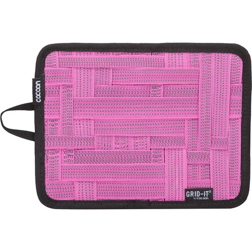 """Cocoon GRID-IT! Small Configurable Organizer for iPad Case (7.25 x 9.25"""", Pink)"""
