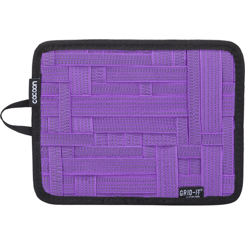 "Cocoon GRID-IT! Small Configurable Organizer for iPad Case (7.25 x 9.25"", Purple)"