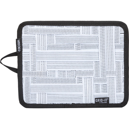 """Cocoon GRID-IT! Small Configurable Organizer for iPad Case (7.25 x 9.25"""", White)"""