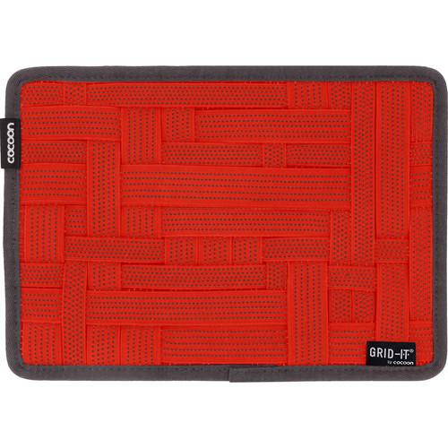 "Cocoon GRID-IT! Organizer (Medium, 10.5 x 7.5"", Racing Red)"